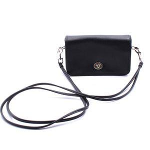 Coach Legacy Black Leather Penny Crossbody Bag